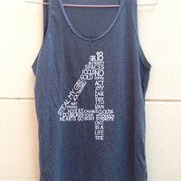 """1 Direction tank tunic 1D tunic one direction shirt Women""""s clothing Size S M L"""