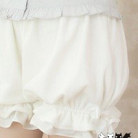 Princess sweet lolita shorts Pumpkin shorts soft sister shorts plush lovely bow security bloomers Dolley-0050-1