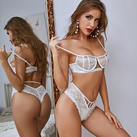 Sexy Erotic Lingerie Body Sculpting Bud Sling Set Beach Swimsuit