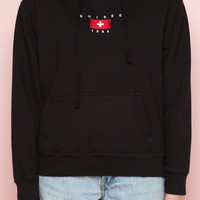 Christy Suisse 1984 Embroidery Hoodie - Just In