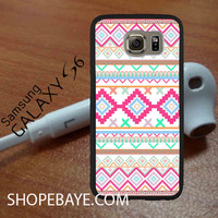 Pink teal Aztec Tribal Diamond geometric Pattern For galaxy S6, Iphone 4/4s, iPhone 5/5s, iPhone 5C, iphone 6/6 plus, ipad,ipod,galaxy case