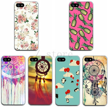 Hot-popular colorful  Phone case Thin Cover Skin for Apple iPhone 4 4S pretty beautiful Painting shell for iPhone 4 4S