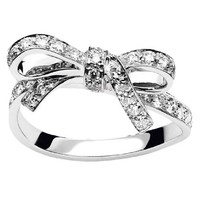 PETIT TRALALA Ring in 18K white gold and diamonds