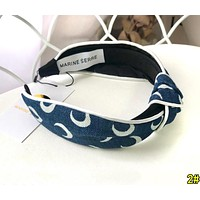 Marine Serre Fashionable Women Headwrap Headband Head Hair Band