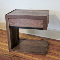 Modern Solid Wood Night Stand / End table