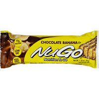 Nugo Nutrition Bar - Chocolate Banana - Case Of 15 - 1.76 Oz