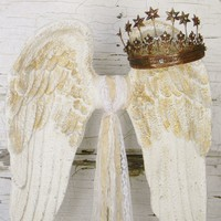 Angel Wing Sculpture - Colorful Cast and Crew