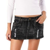 Jessie G. Women`s Denim Mini Skirt