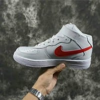 Nike Air Force 1 Mid white shoe size 40-44