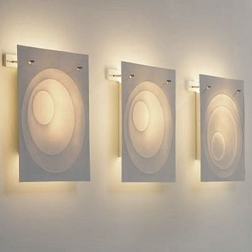 LIGHTING - Bone China Lights - SunMoon Porcelain Wall Light by Cordula Kafka