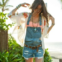 O'Neill EVIE OVERALL SHORTS from Official US O'Neill Store