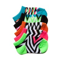 Girls Crib Glow Socks 5 Pack