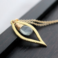 Dew Necklace (Multiple Stones Available)