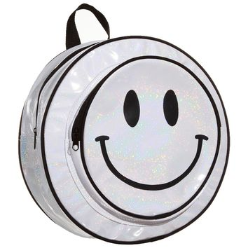 HAPPY FACE HOLO BACKPACK