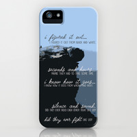 You & I - One Direction iPhone & iPod Case by Tarawrawr
