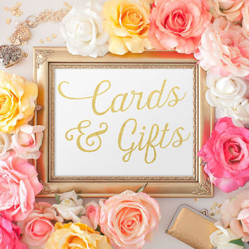 Wedding Signage, Cards & Gifts, Guest Book, Reserved Table Sign, Wedding Reception Sign