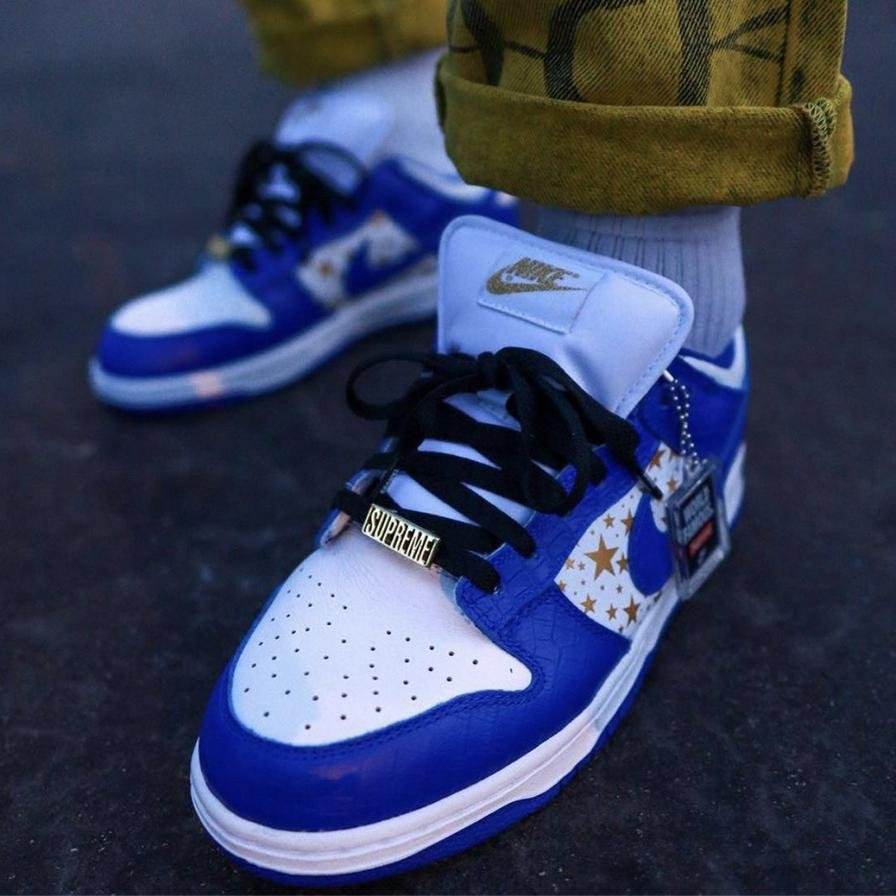 Image of Nike SB Dunk Low Sup Stars Men's and Women's Sneakers Shoes