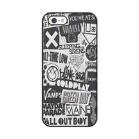 The Xx, Coldplay, Arctic Monkeys, The Neighbourhood, Sleeping With Sirens ,The 1975 Band iPhone 5|5S Case