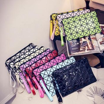 Geometric Hologram Clutch Limited Inventory