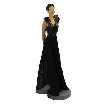 Black Art Chic Figurine Sister Friends Collection - FSF02