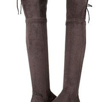 DOLCE VITA | Neely Over-The-Knee Boot - Anthracite Stella Suede