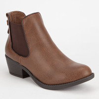 SODA Twin Gore Womens Bootie | Boots