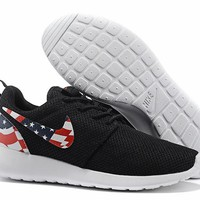 """""""Nike Roshe Run USA"""" Sport Casual National Flag Unisex Sneakers Couple Running Shoes"""