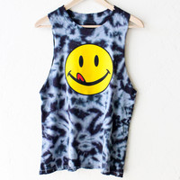 Petals and Peacocks Lickity Split Muscle Tank