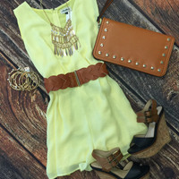 Lemondrop Romper