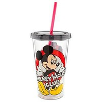 Mickey Mouse Club Large Tumbler with Straw | Disney Store