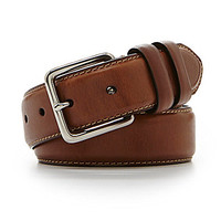 Cremieux Double-Keeper Leather Belt - Brown