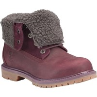 Timberland Women's Earthkeepers Authentics Roll-Down Waterproof Casual Boot - Burgundy | DICK'S Sporting Goods
