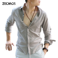 Zecmos Solid Shirts For Men Szb101