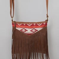 Southwestern Embroidered Crossbody Purse