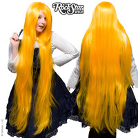 "Cosplay Wigs USA™  Straight 120cm/47"" - Yellow -00461"