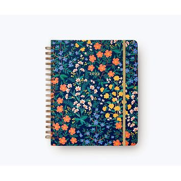 2022 Wildwood Rifle Paper Co. 17-Month Hardcover Spiral Planner