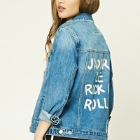 Jadore Rock N Roll Denim Jacket