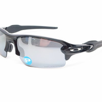 Oakley Flak 2.0 OO9295-07 Polished Black Polarized Sunglasses
