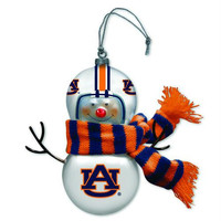 2 Christmas Ornaments - Auburn Tigers