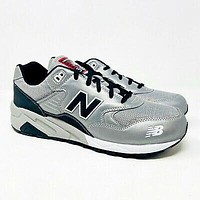 New Balance 580 Lifestyle Pinball Pack Elite Gray Silver Mens Size 10 MRT580BH