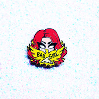 Bad Girl Dark Phoenix Enamel Pin