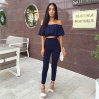 Cassidy Two-Piece Jumpsuit