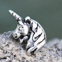 316L Stainless Steel Unicorn Cartilage Earring