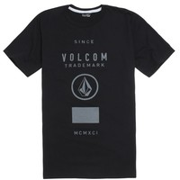 Volcom V Champ T-Shirt - Mens Tee - Black