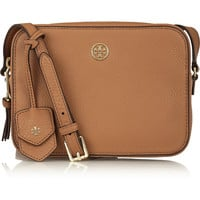 Tory Burch - Robinson textured-leather shoulder bag