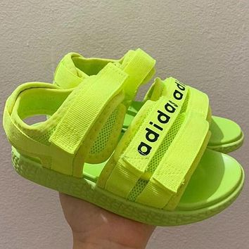 Adidas Girls Boys Children Sandals Flats Shoes