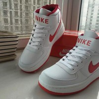 Tagre™ Nike Air Force 1 Unisex Sport Casual Letter High Help Plate Shoes Couple Sneakers
