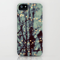 Winter Lights iPhone Case by Elle Moss | Society6