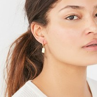 five and two Piper Tag Earrings | Urban Outfitters
