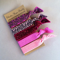The Jazzy Hair Tie - Ponytail Holders by Elastic Hair Bandz on Etsy